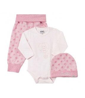Baby sæt - Hue/Body/Bukser fra Pippi Id1505