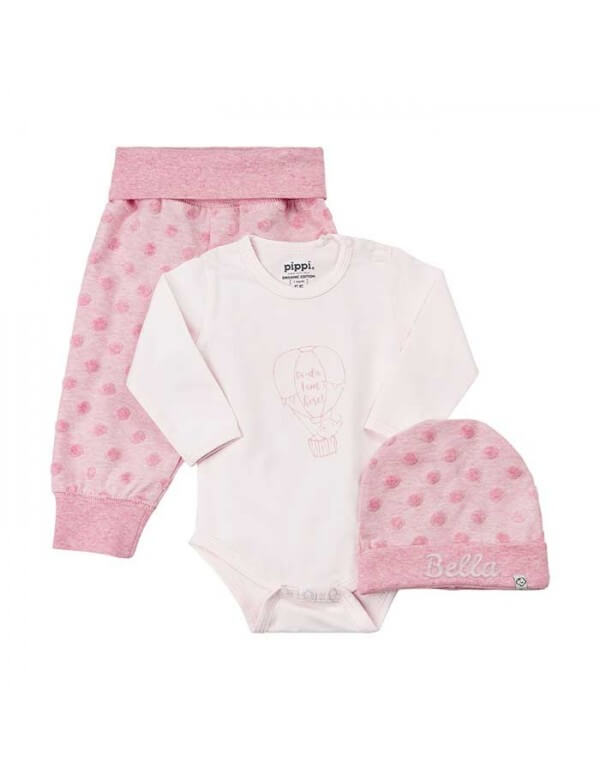 Forside Pippi Baby sæt - Hue/Body/Bukser 1505 349,00kr. 349,00kr. 279,20kr. 279,20kr.