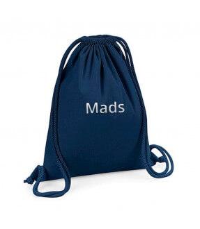 Forside Westford Mill Gymnastikpose med navn i økologisk bomuld 500 129,00kr. 129,00kr. 103,20kr. 103,20kr.