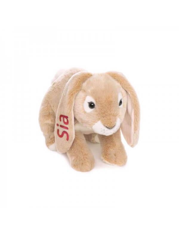 Stor Vædderkanin med navn fra Teddykompaniet Id288