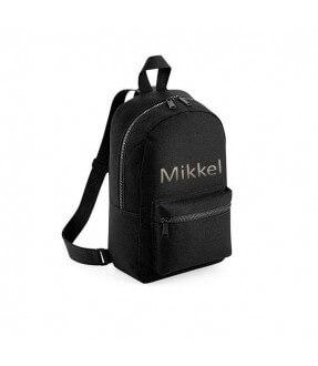 Mini rygsæk til børn med navn fra BagBase Id2551