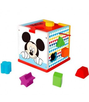 Motorik legetøj med navn - Disney Mickey Mouse put-i-kasse fra byMOXO Id904