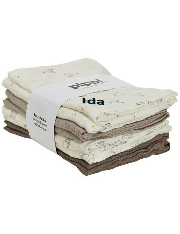 Forside Pippi Mønstret stofble med navn - 8 stk. 1501 299,00kr. 299,00kr. 239,20kr. 239,20kr.