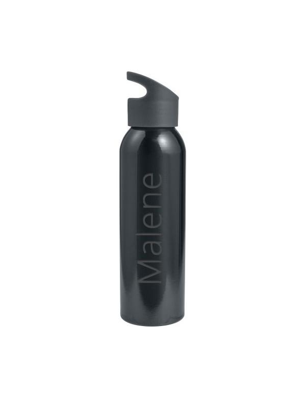 Aluminium drikkedunk med navn (650 ml) fra Saxer Id3001