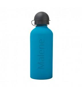 Aluminium drikkedunk med navn (600 ml) fra Saxer Id3000