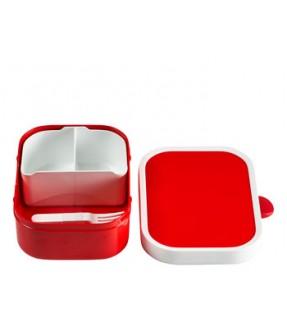 Mepal ensfarvet madkasse med navn fra Mepal Id701
